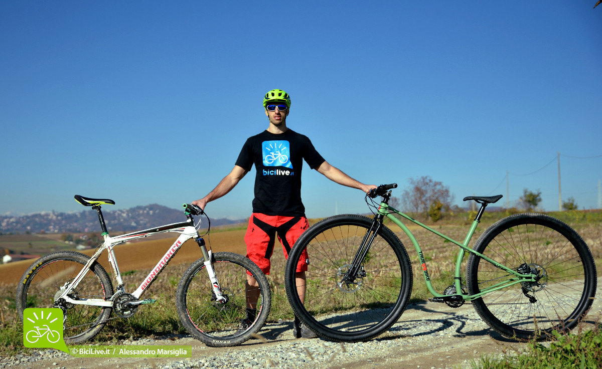 """The TrueBike 36"""" proportions are real only when compared with a mountain bike 26""""."""
